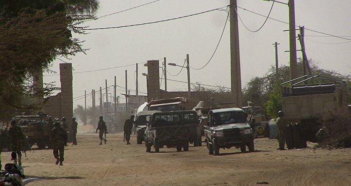 Soldados de Malí en Tombuctú (archivo)