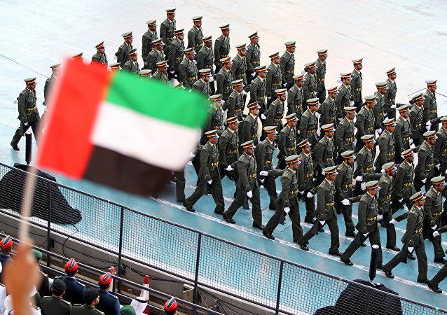 Soldados de Emiratos Árabes Unidos (archivo)