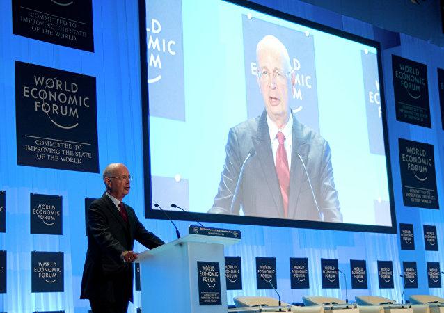 Klaus Schwab, fundador y director ejecutivo del Foro Económico Mundial