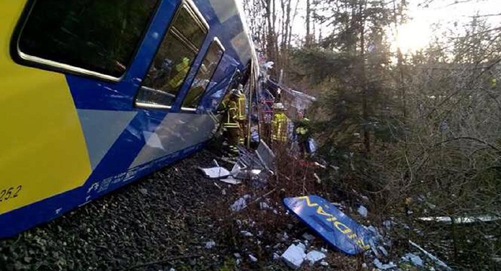 Choque de trenes en Alemania