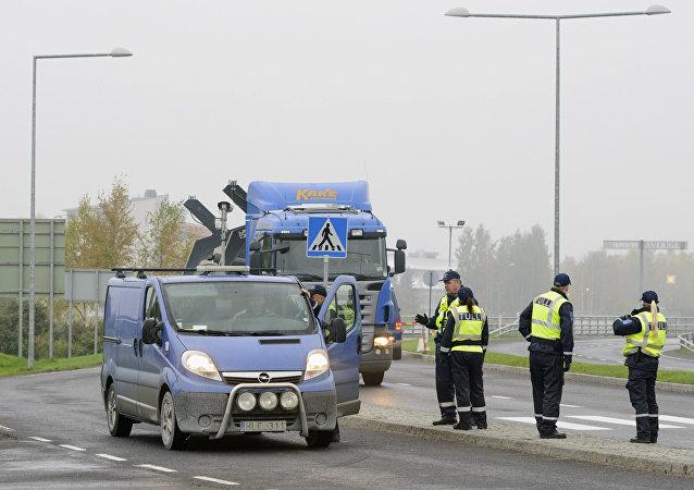 Frontera entre Suecia y Finlandia