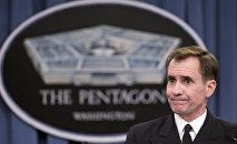 John Kirby, el portavoz del Departamento de Estado de EEUU
