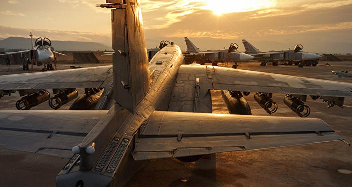 Fuerzas Aeroespaciales de Rusia en la base siria Hmeymim
