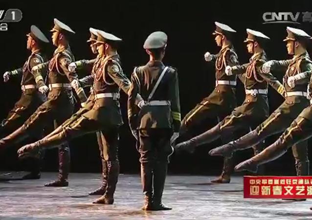 Ejército chino cambia la percepción del baile
