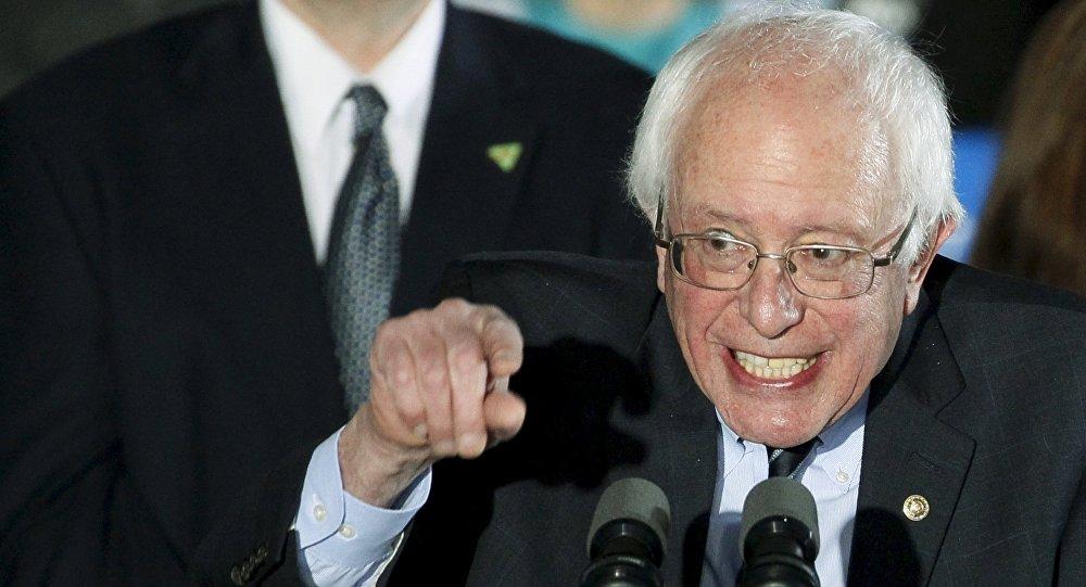 Bernie Sanders, el candidato demócrata a la presidencia de EEUU