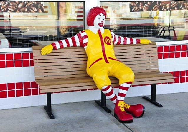Ronald Mcdonald, mascota oficial de McDonald's