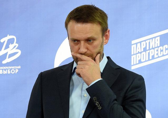 Alexéi Navalni, el opositor ruso