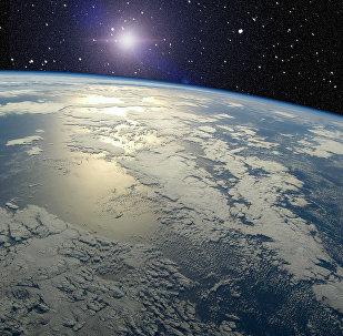 Vista de la Tierra desde el espacio (imagen referencial)
