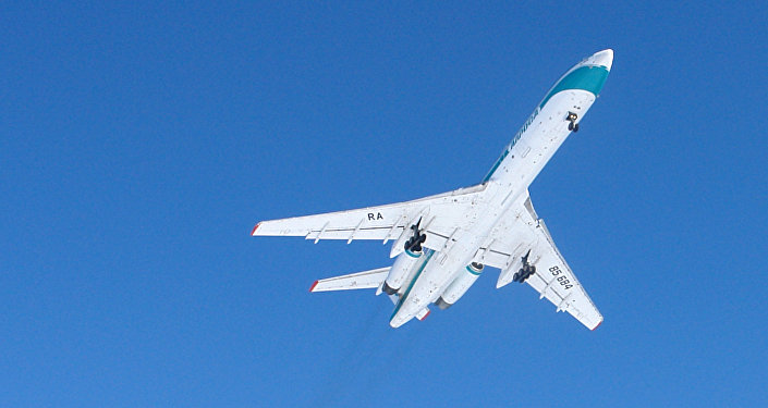 Avión Tu-154M