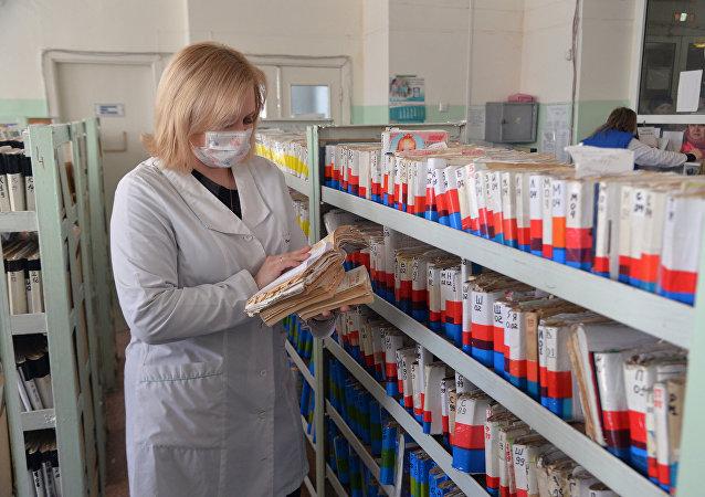 Un brote epidémico en Rusia (archivo)