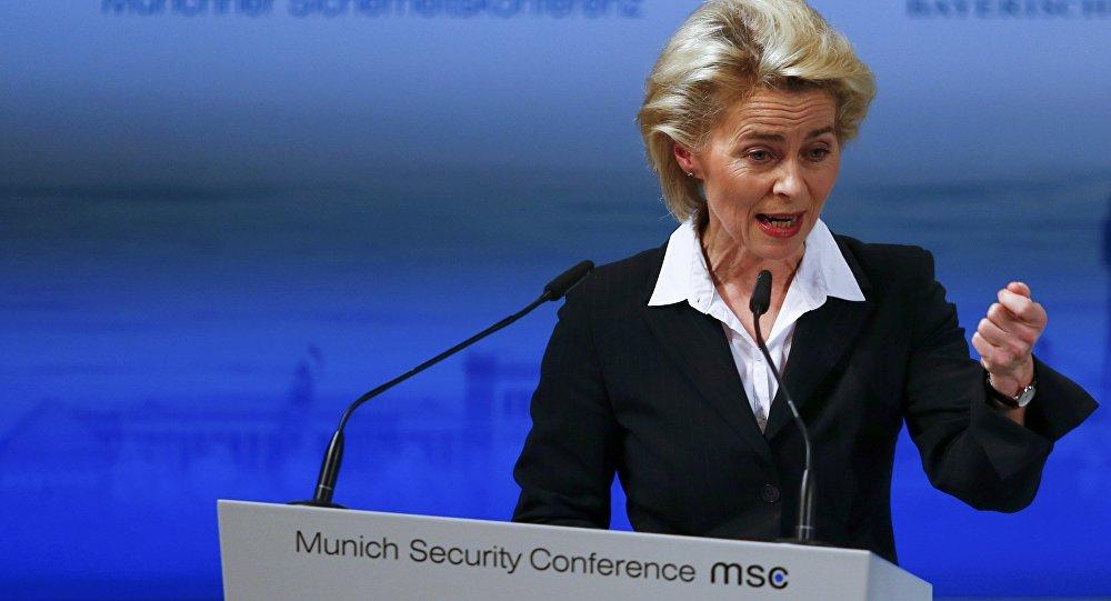 Ursula von der Leyen, la ministra alemana de Defensa