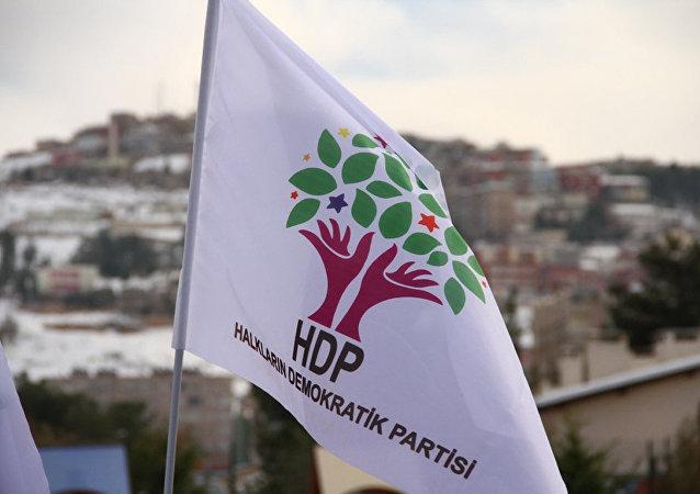 La bandera de HDP