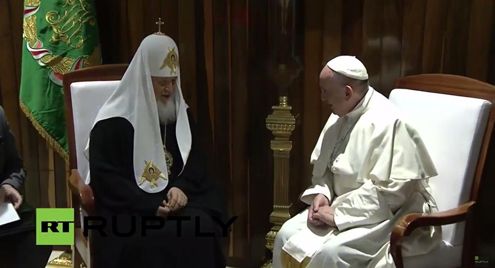 El encuentro entre el papa Francisco y el patriarca Kiril en La Habana