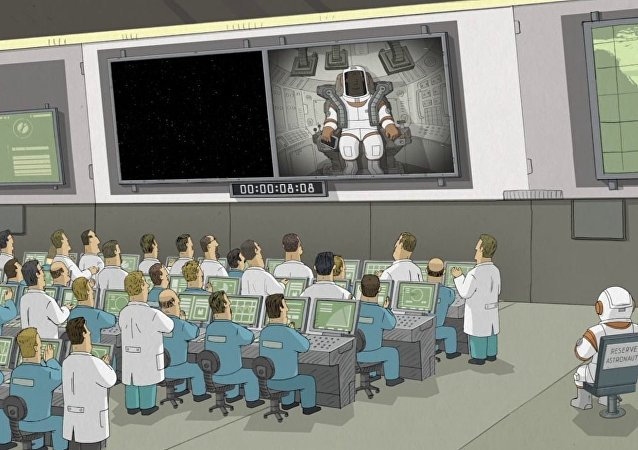 Película de animación We Can't Live Without Cosmos