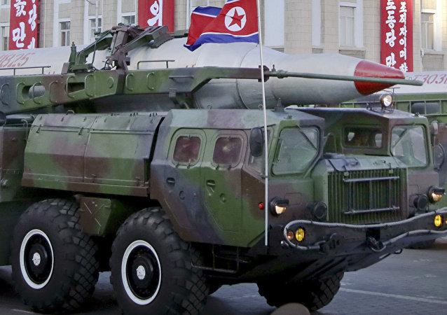 Misil norcoreano KN-08