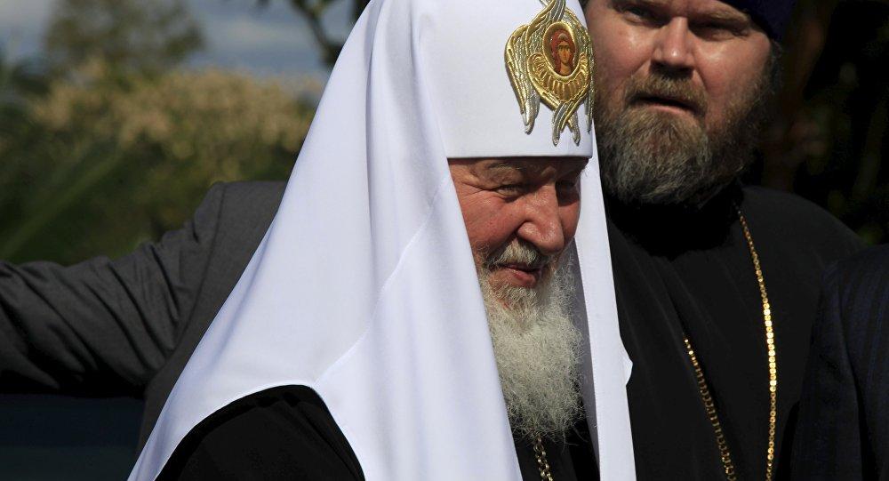 Kirill, patriarca de Moscú y Toda Rusia