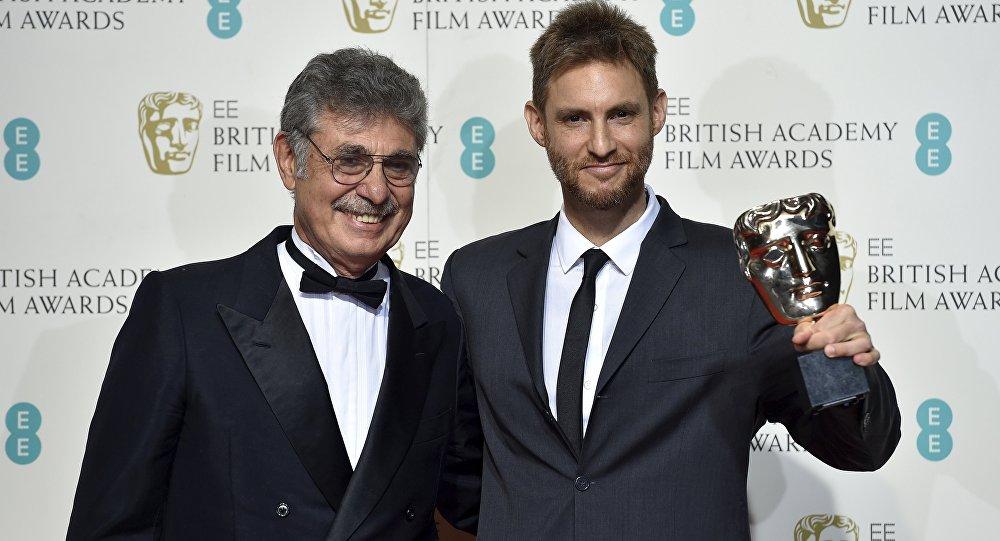 Hugo Sigman y Damián Szifron, director de la película Relatos Salvajes
