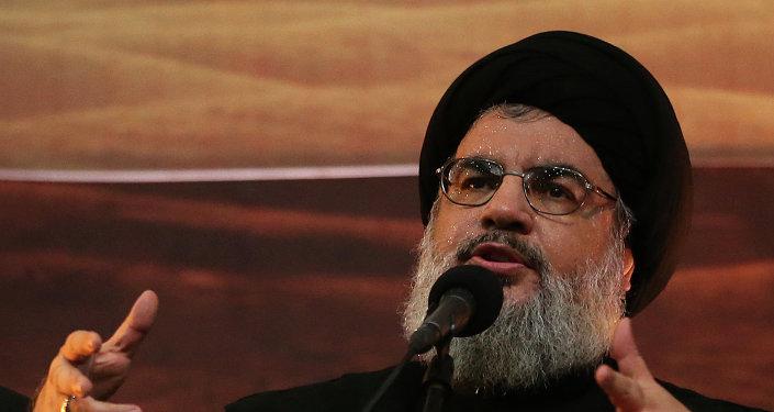 Hassan Nasrallah, el líder del movimiento chií libanés Hizbulá