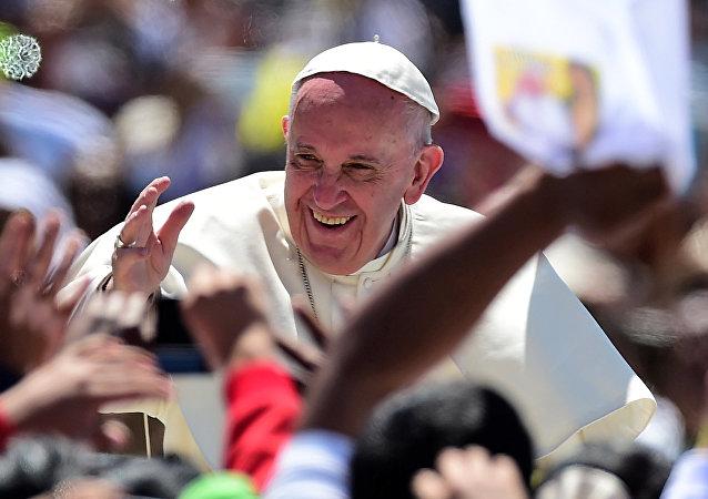 Papa Francisco en San Cristobal de las Casa, México
