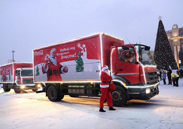 Campaña navideña de Coca-Cola