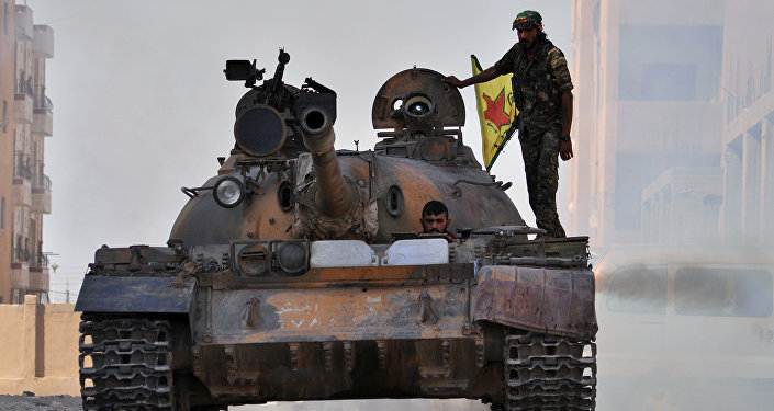 Militares kurdos en Siria (archivo)