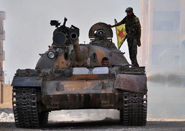 YPG, brazo armado del PYD