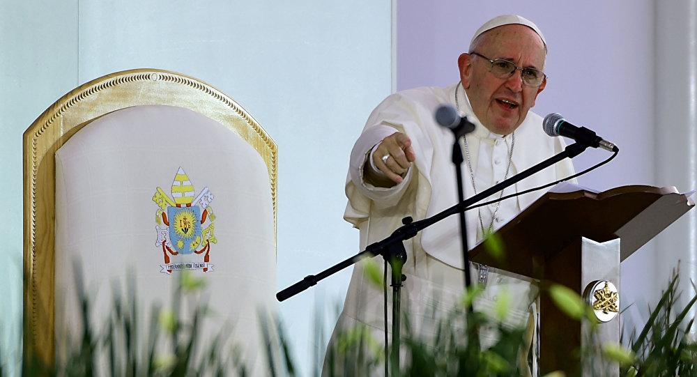 Papa Francisco en Michoacán, México