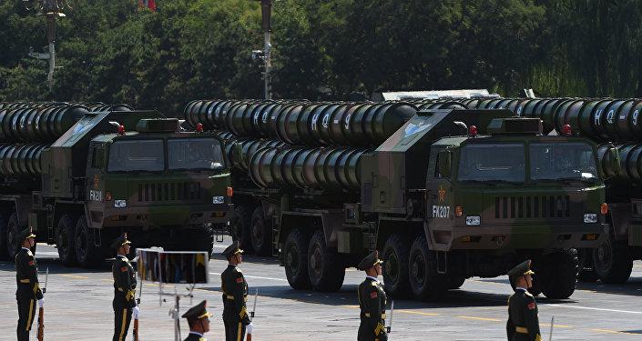 Sistemas de misiles antiaéreos chinos HQ-9