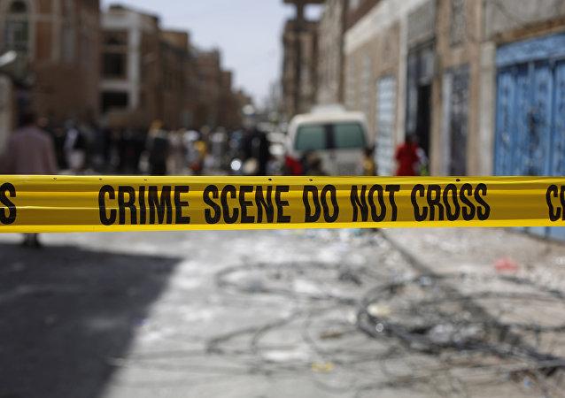 Lugar de un delito en Yemen (imagen referencial)