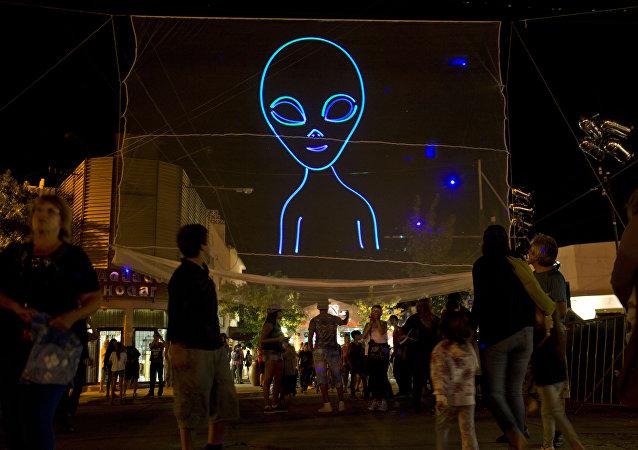 Una imagen de un extraterrestre