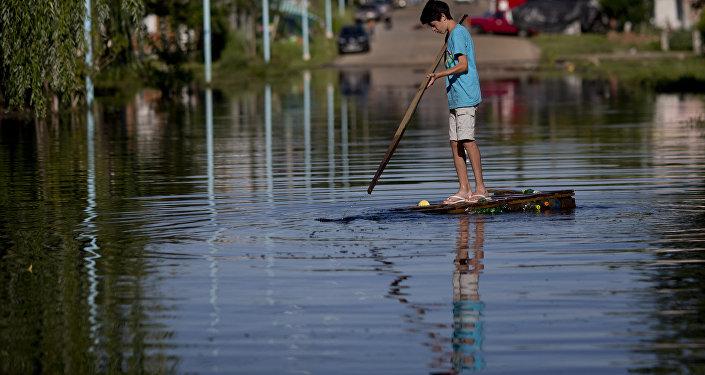 Inundación en Argentina (archivo)