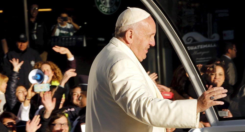 El papa Francisco en la Ciudad de México