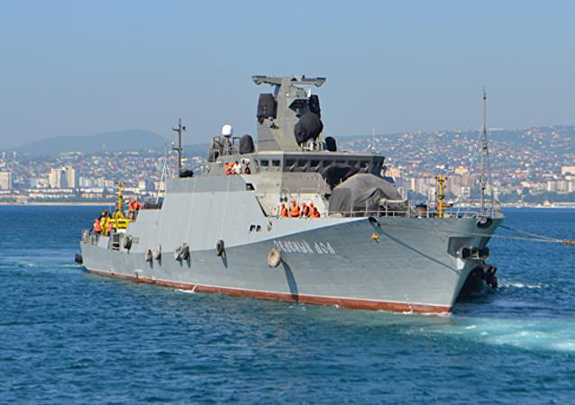 La corbeta portamisiles rusa Zelioniy Dol clase Buyán