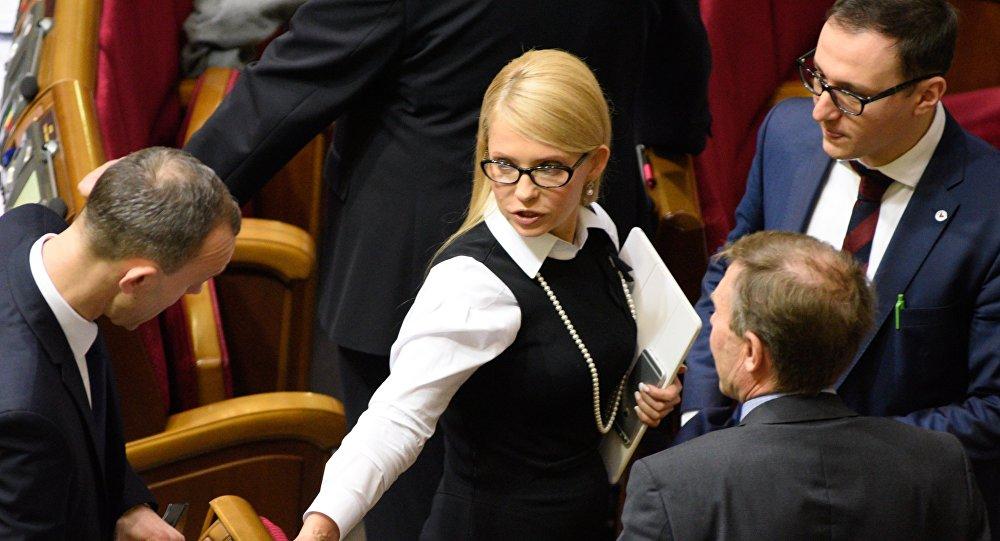 Yulia Timoshenko, jefa del partido Batkivschina