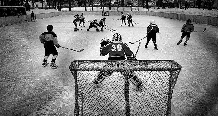 Serie de fotos 'Hockey en Vetluga'