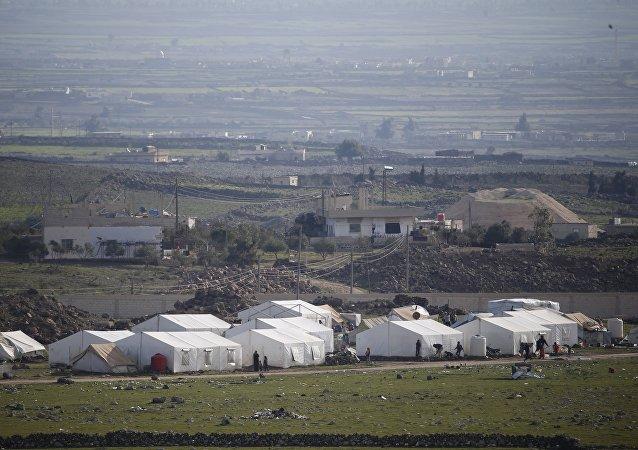 Frontera entre Siria e Israel (archivo)