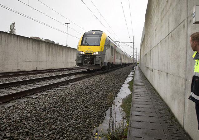 Tren en Bélgica