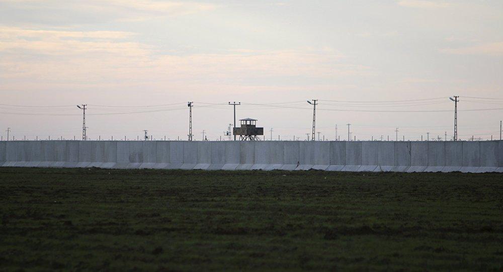 La frontera entre Turquía y Siria