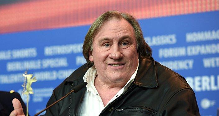 Gerard Depardieu, conocido actor francés