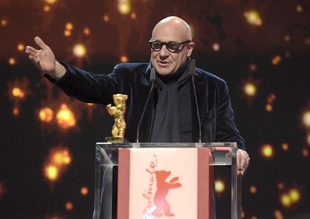 Gianfranco Rosi, director de 'Fuocoammare'