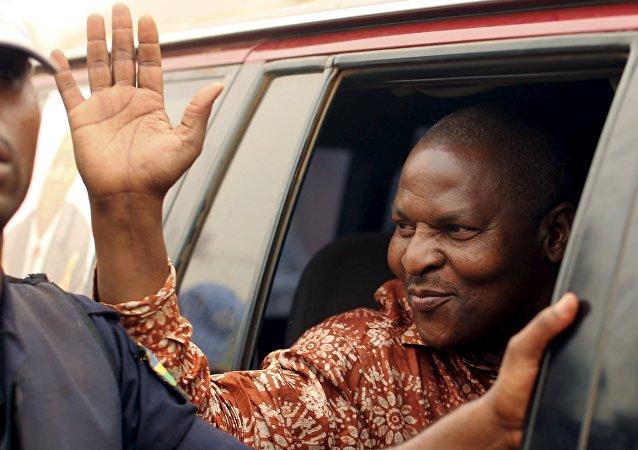 Faustin-Archange Touadéra, el presidente de la República Centroafricana