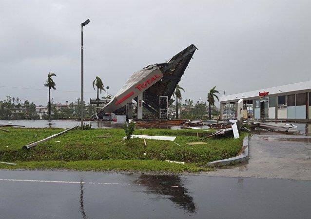 Consecuencias del huracán en Fiyi