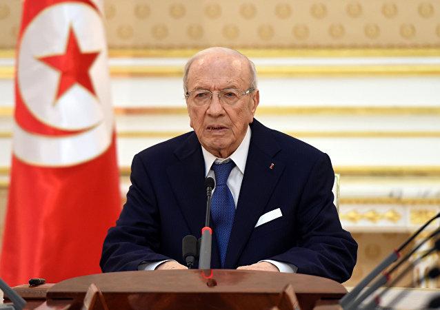 Beji Caid Essebsi, presidente de Túnez