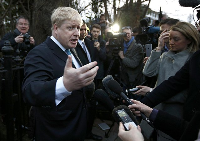 Boris Johnson, ex alcalde de Londres