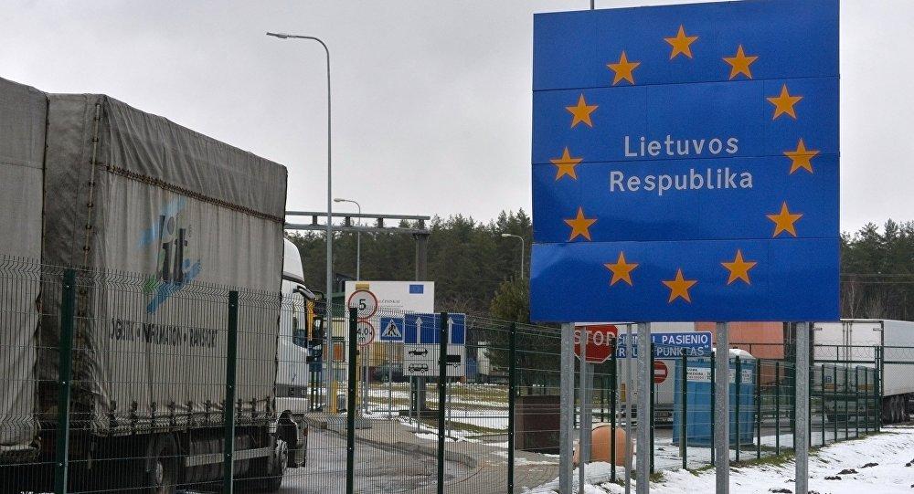 Frontera entre Bielorrusia y Lituania (archivo)