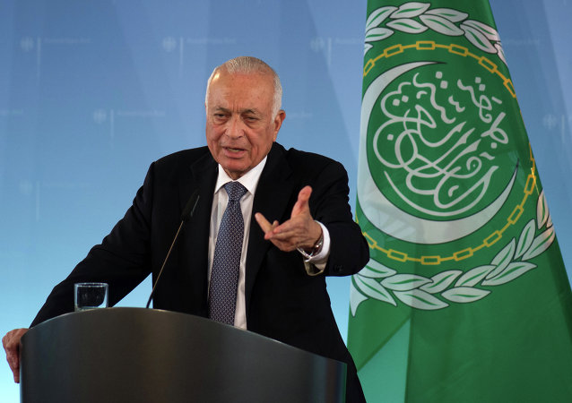 Nabil al Arabi, secretario general de la Liga Árabe