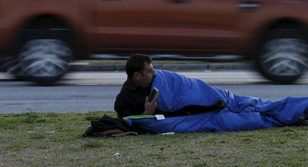Refugiado en Grecia