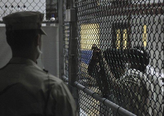 La cárcel de Guantánamo (archivo)