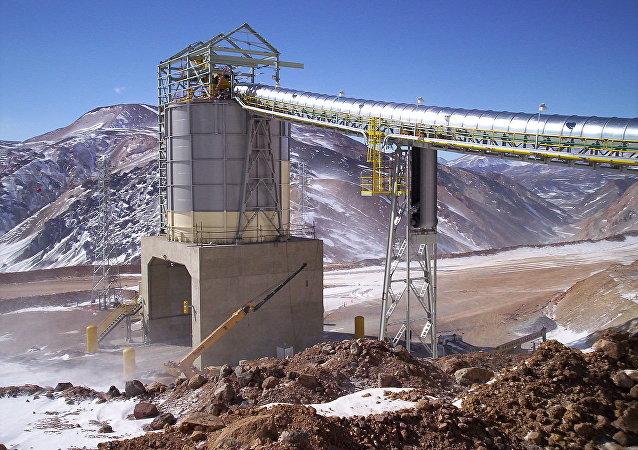 La mina Veladero, San Juan, Argentina