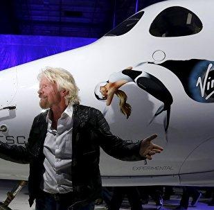 Richard Branson, multimillonario británico y fundador del conglomerado Virgin Group